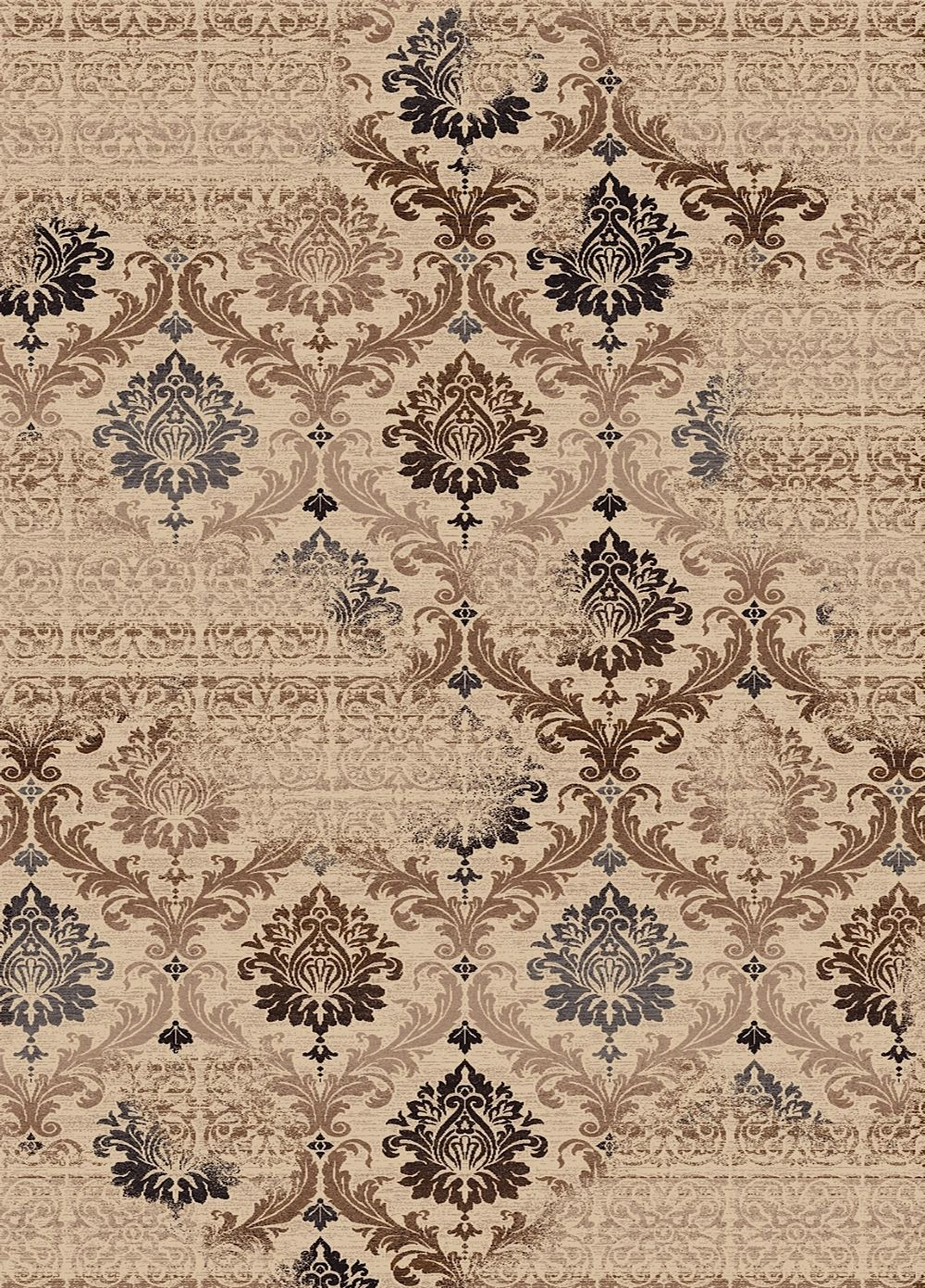 dynamic rugs treasure transitional area rug collection