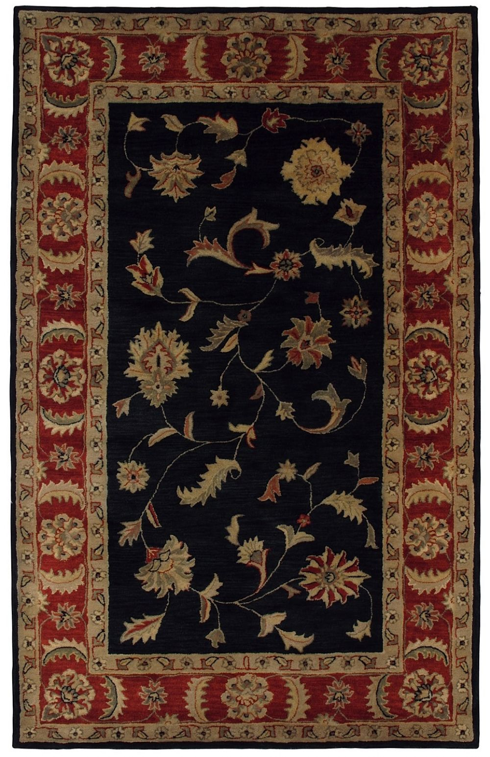 dynamic rugs charisma traditional area rug collection