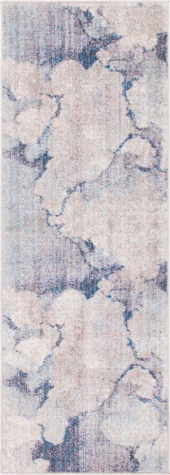 unique loom rainbow contemporary area rug collection