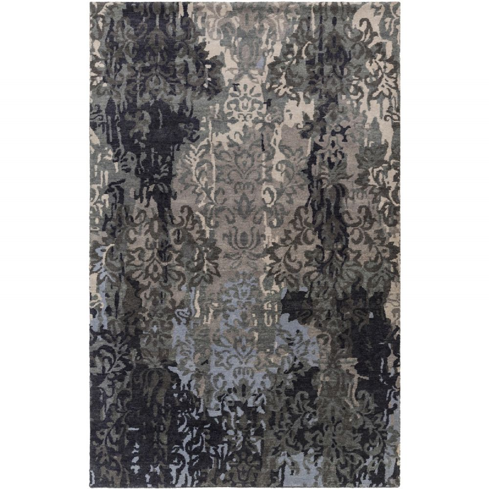 surya brocade transitional area rug collection
