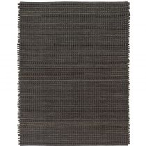 Surya Solid/Striped Fan Belt Area Rug Collection