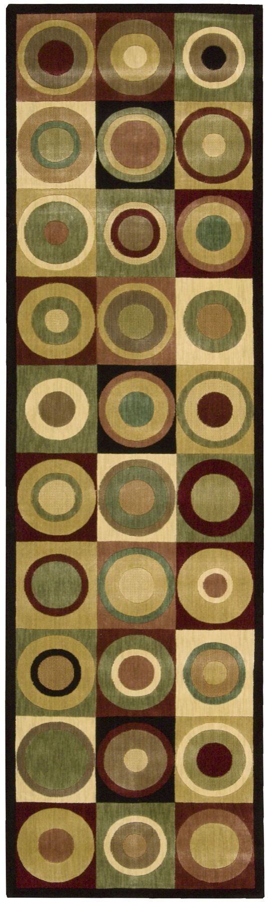 nourison parallels contemporary area rug collection