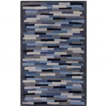 RugPal Solid/Striped Prunella Area Rug Collection