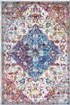 NuLoom Country & Floral Kena Persian Floral Area Rug Collection
