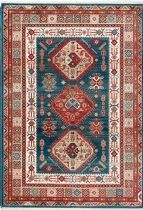 NuLoom Traditional Qiana Emblem Fringe Area Rug Collection