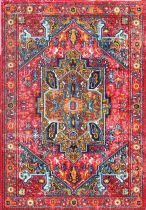 NuLoom Traditional Reyna Medallion Area Rug Collection