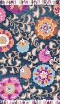 NuLoom Country & Floral Sana Floral Suzani Tassel Area Rug Collection