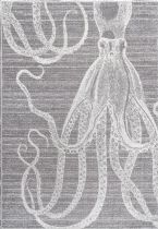 NuLoom Contemporary Thomas Paul Power loomed Octopus Area Rug Collection