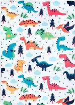 NuLoom Kids Ulrike Dino Caricature Playtime Area Rug Collection