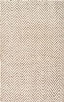 NuLoom Natural Fiber Vania Chevron Area Rug Collection