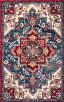 NuLoom Traditional Tiki Royal Flower Area Rug Collection