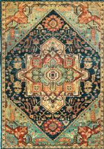NuLoom Traditional Tribal Medallion Tabetha Area Rug Collection