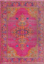 NuLoom Traditional Vintage Medallion Queenie Area Rug Collection