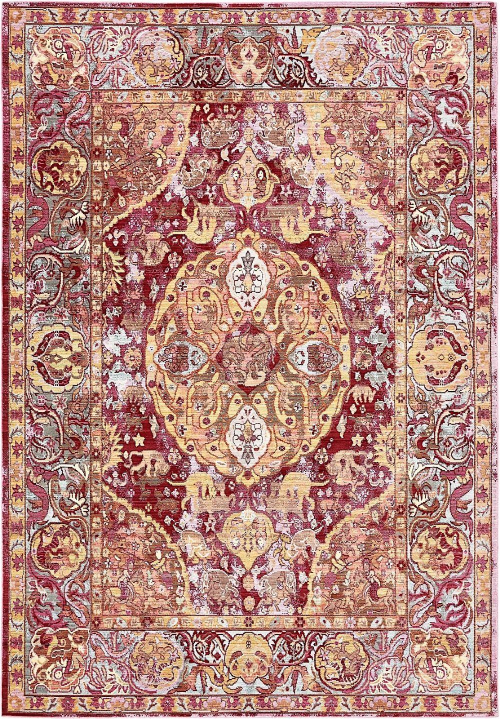 unique loom austin southwestern/lodge area rug collection