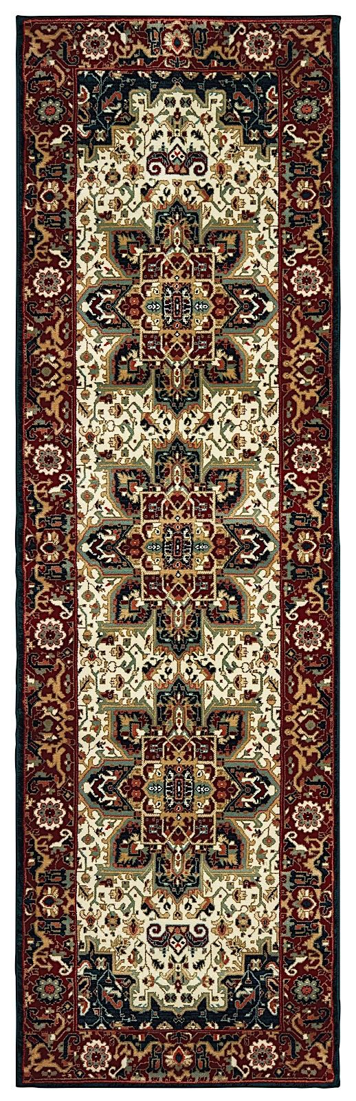 oriental weavers kashan traditional area rug collection