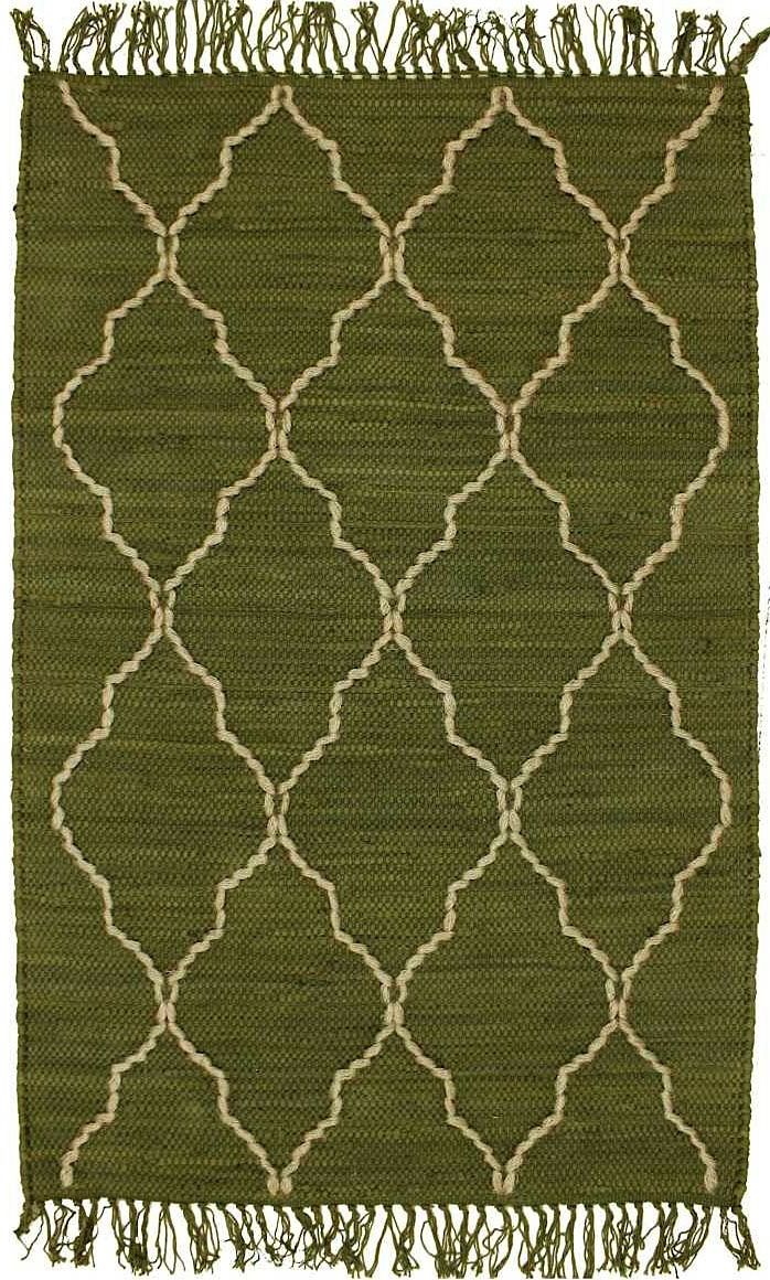 homespice decor trellis avocado contemporary area rug collection