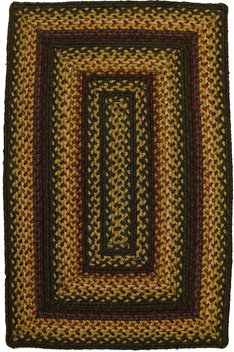 homespice decor magnolia braided area rug collection