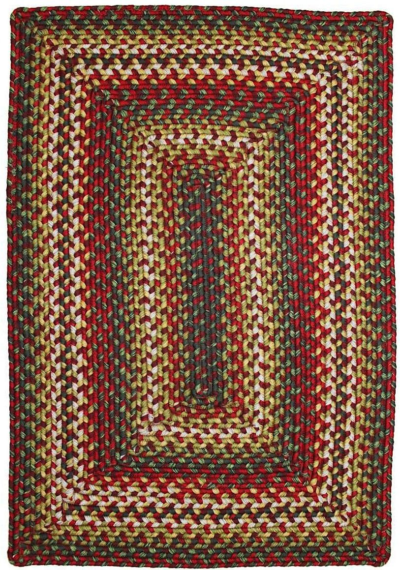homespice decor sunrose braided area rug collection
