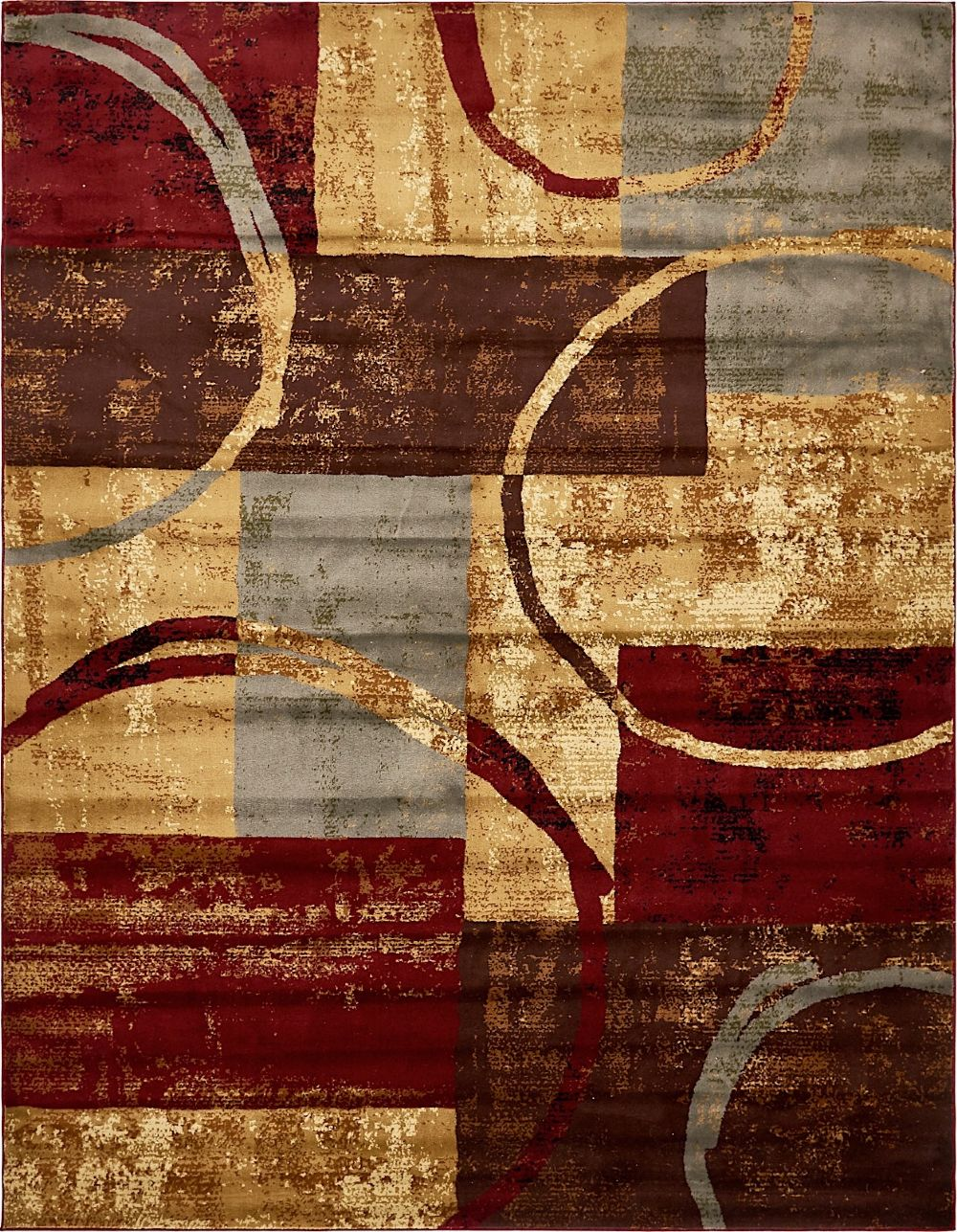 unique loom barista contemporary area rug collection