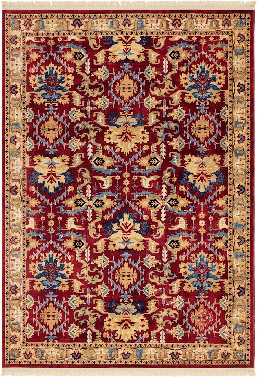 unique loom district traditional area rug collection