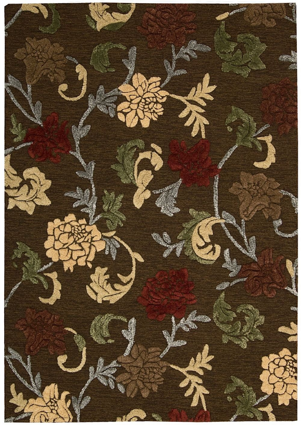 nourison sunburst country & floral area rug collection