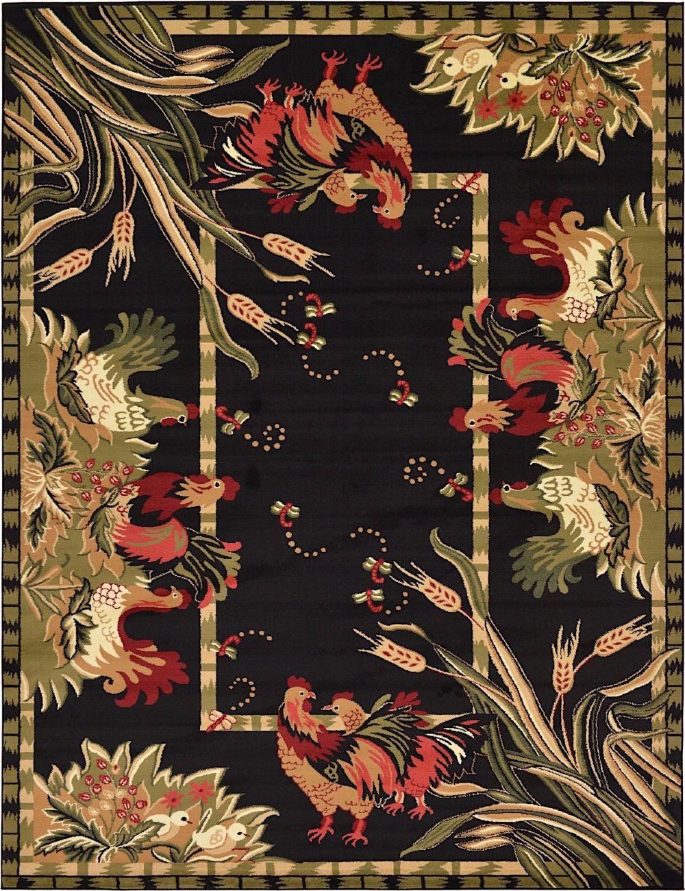 rugpal farmland novelty area rug collection