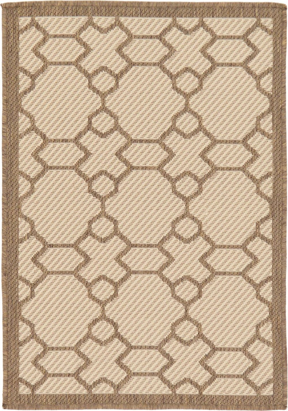 unique loom outdoor contemporary area rug collection