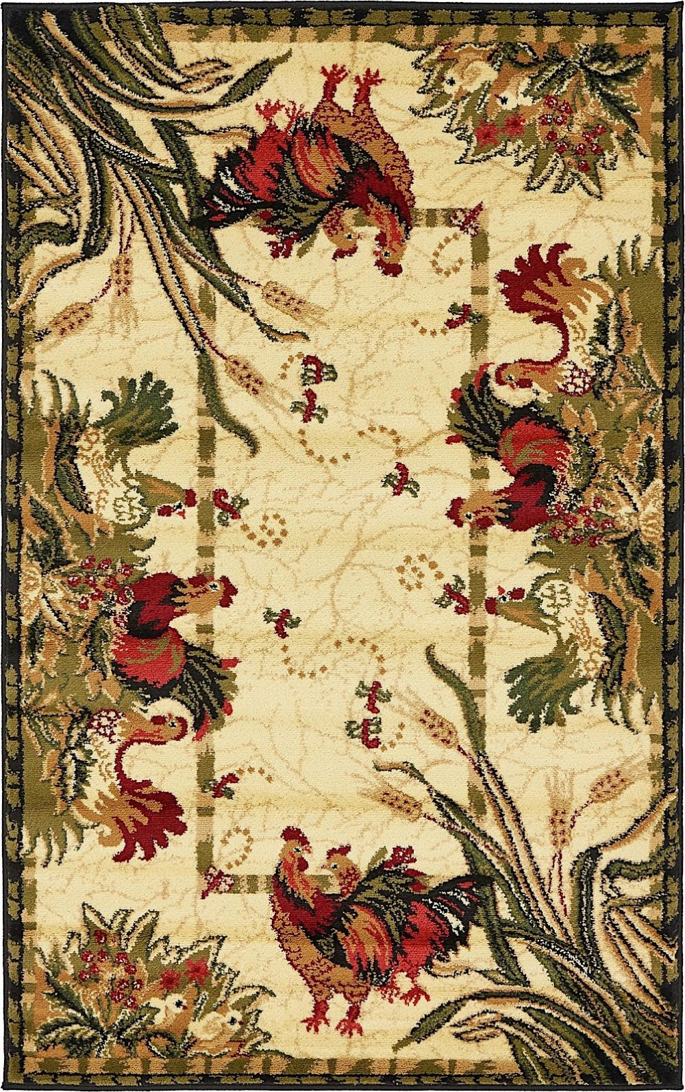 rugpal farmland novelty area rug collection