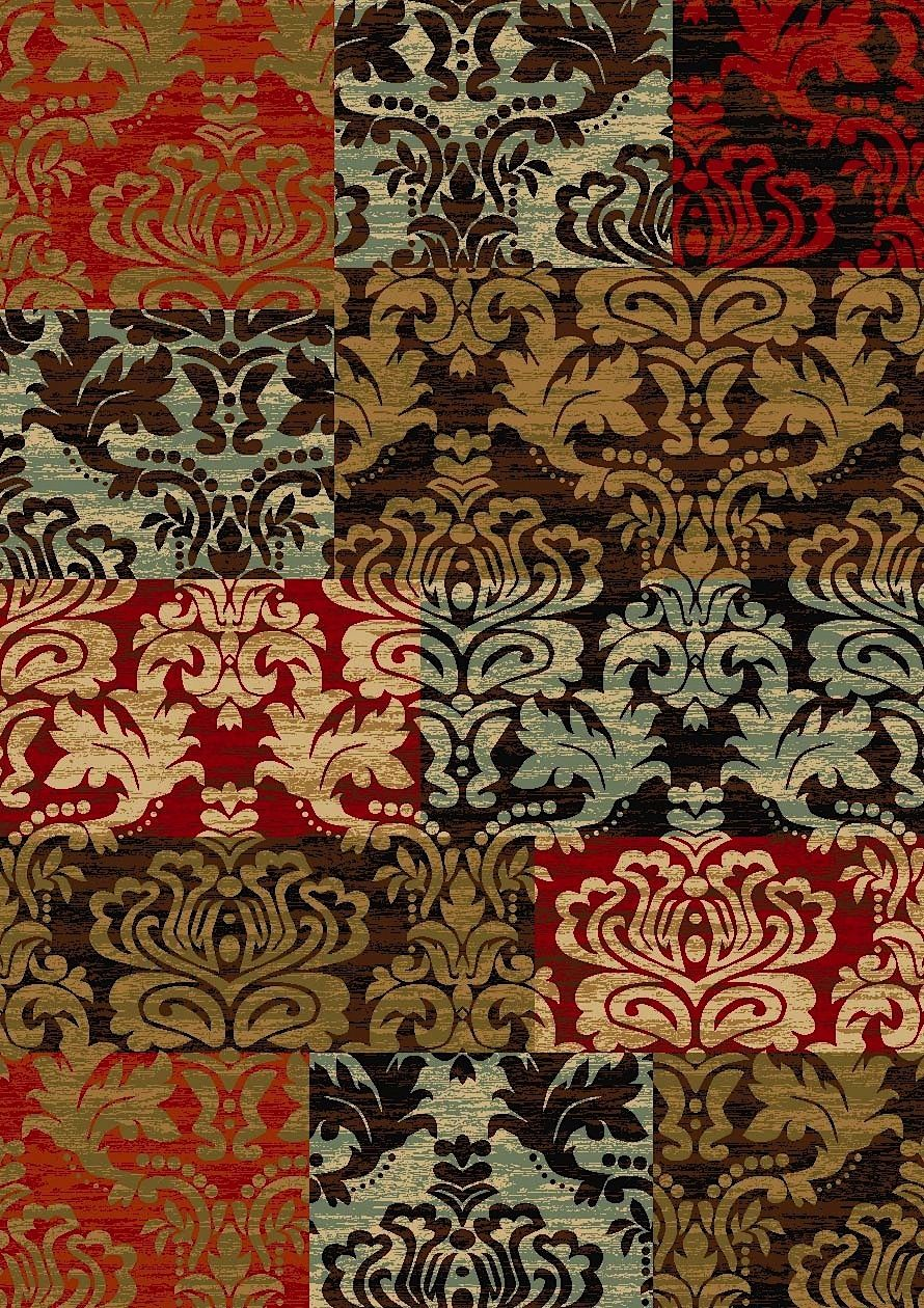 well woven kings court patty patchwork contemporary area rug collection