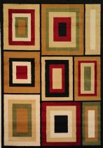 Well Woven Contemporary Dulcet Structure Area Rug Collection
