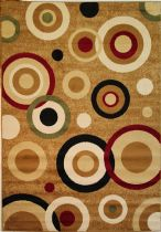 Well Woven Contemporary Dulcet Rings Area Rug Collection