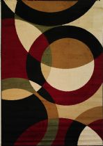 Well Woven Contemporary Dulcet Bingo Area Rug Collection