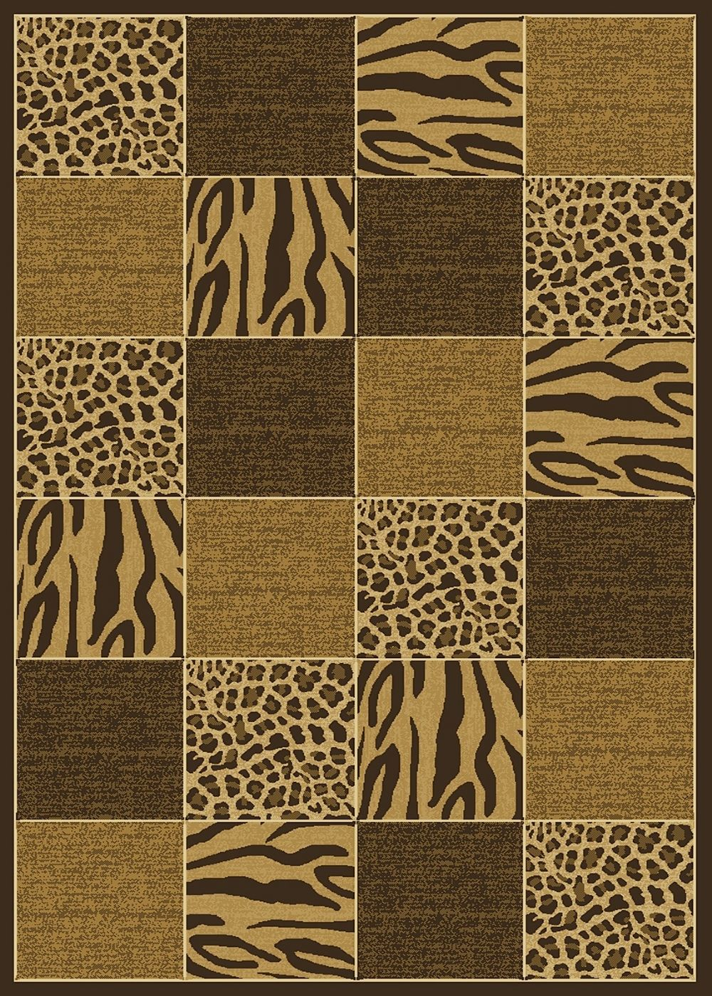 central oriental radiance skins animal inspirations area rug collection