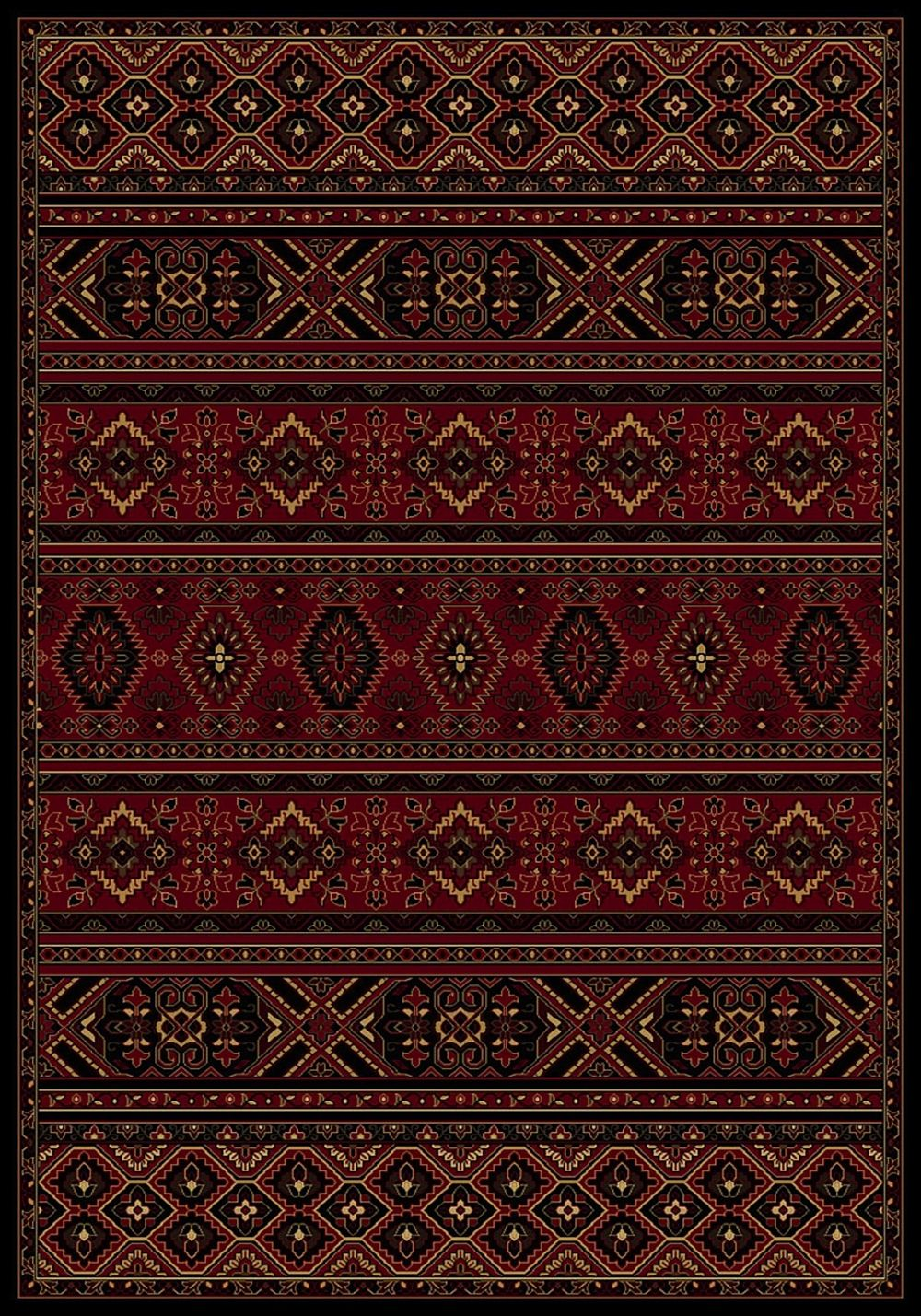 central oriental radiance southwestern/lodge area rug collection