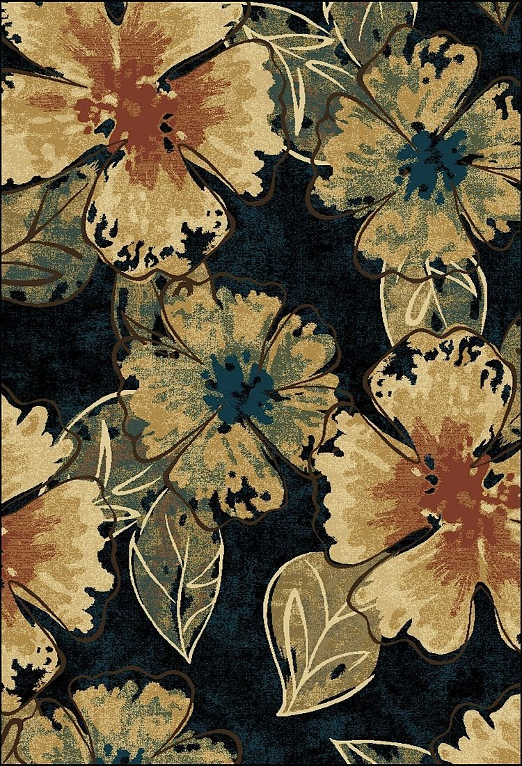 central oriental radiance country & floral area rug collection