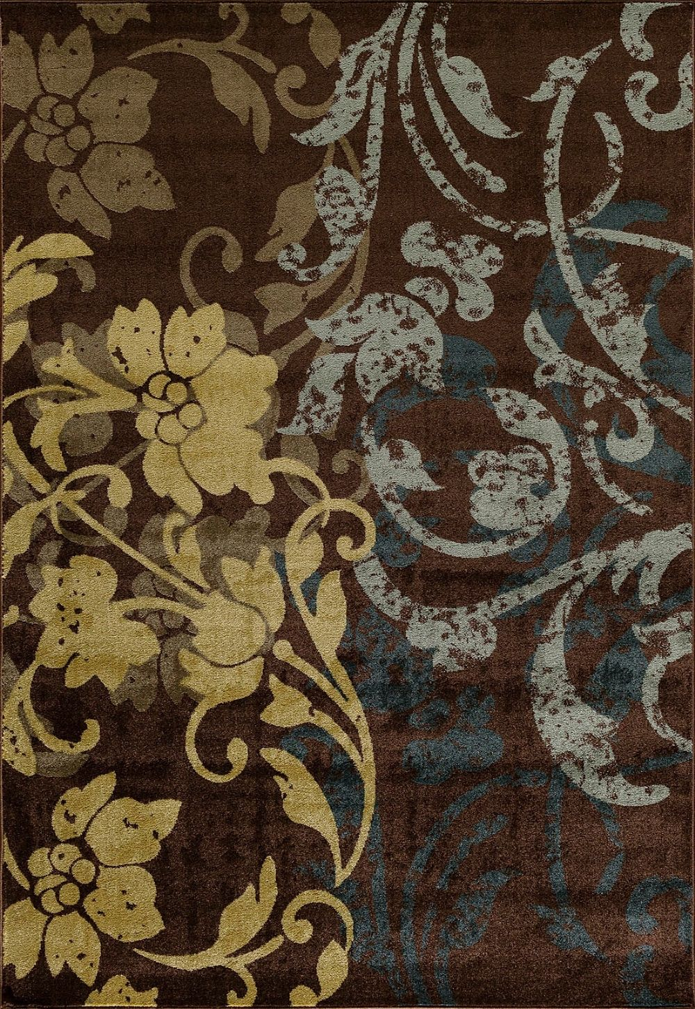 central oriental vintage contemporary area rug collection