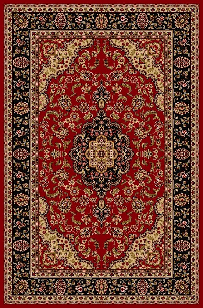 well woven kings court depak medallion traditional area rug collection
