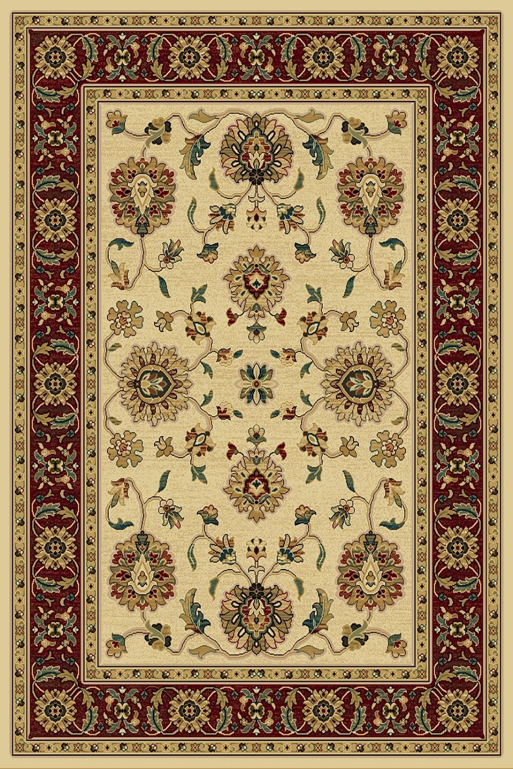 central oriental paige traditional area rug collection