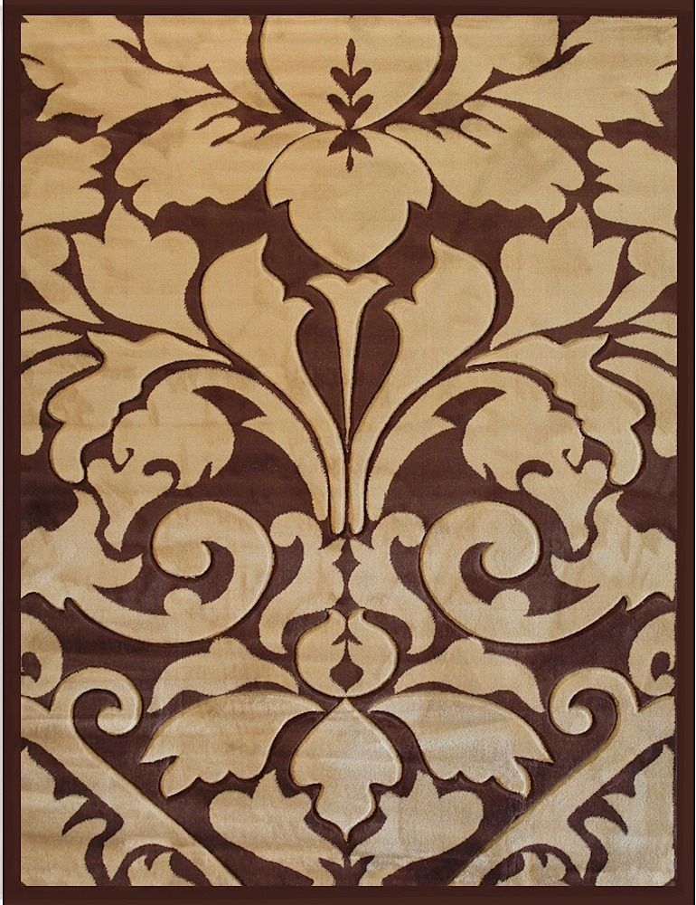 well woven melody royal damask contemporary area rug collection