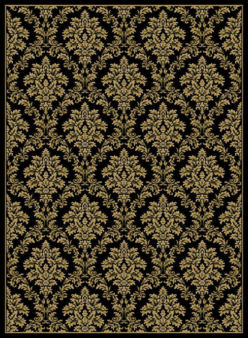 central oriental gallery 4-piece sets (18x3, 110x611, 45x611, 67x96) transitional area rug collection