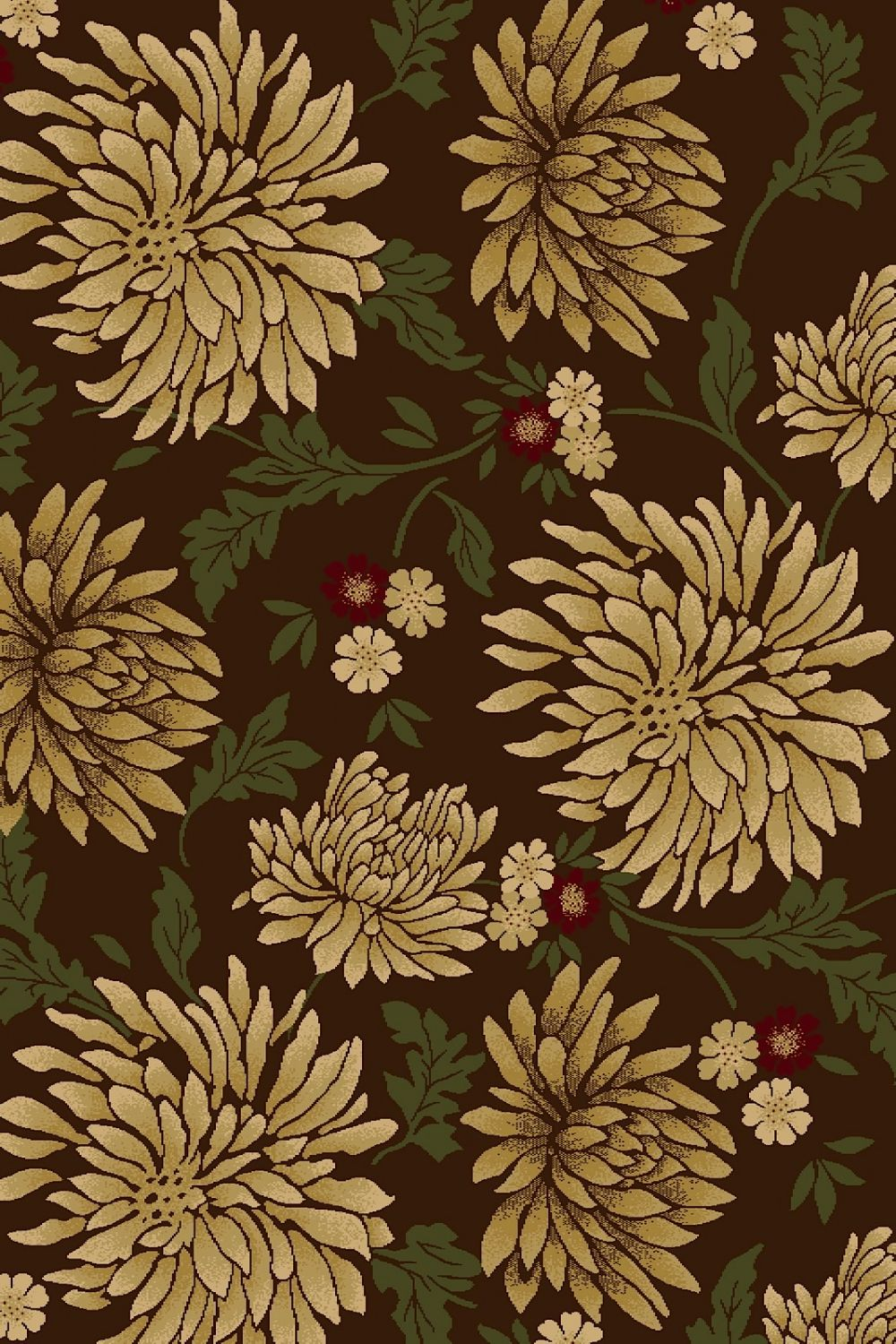 central oriental interlude country & floral area rug collection
