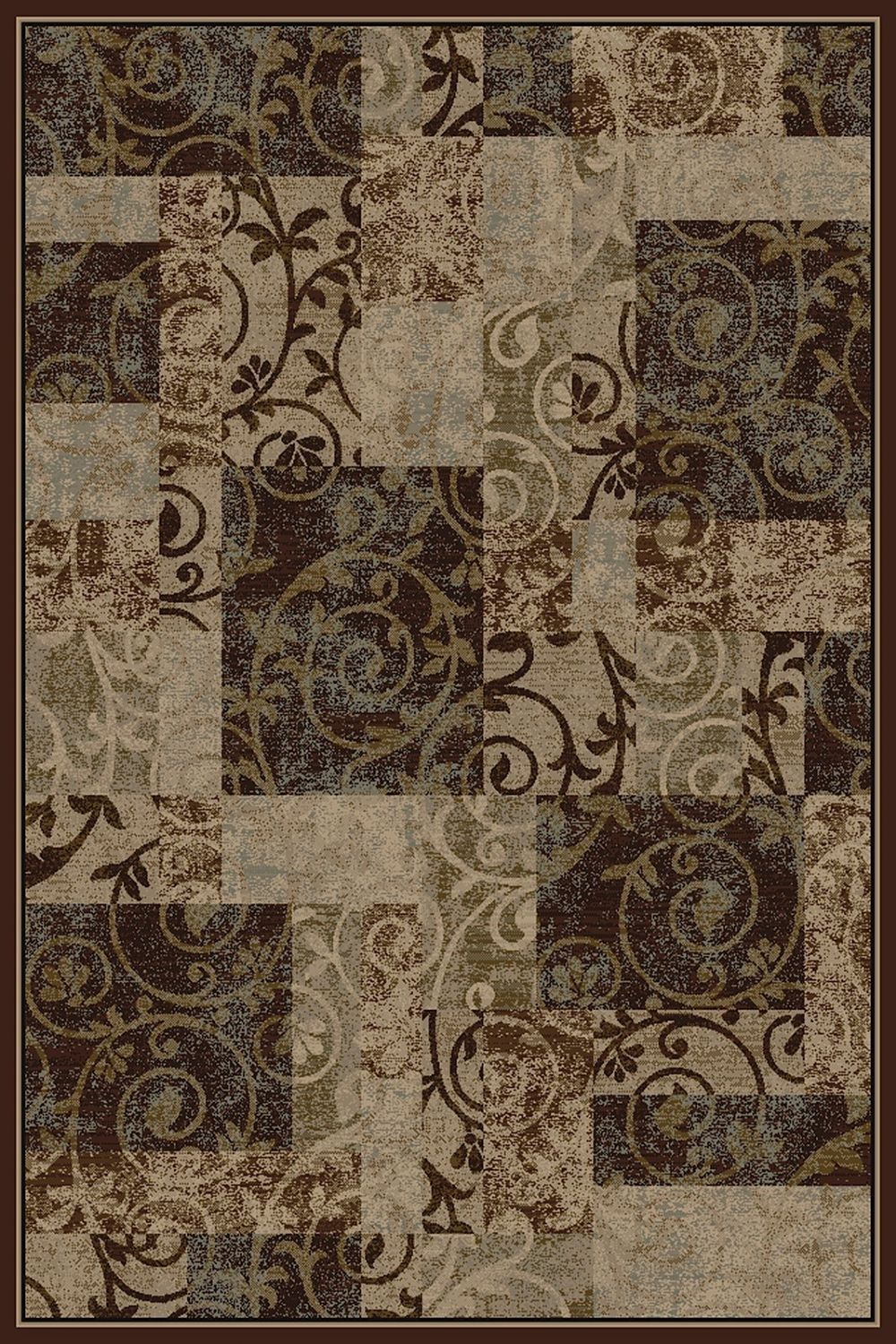 central oriental interlude contemporary area rug collection