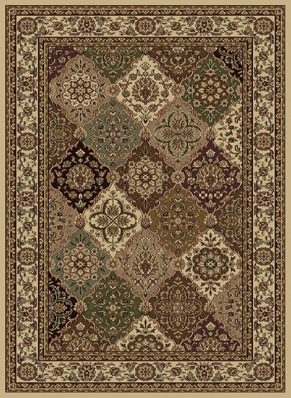 central oriental encore transitional area rug collection