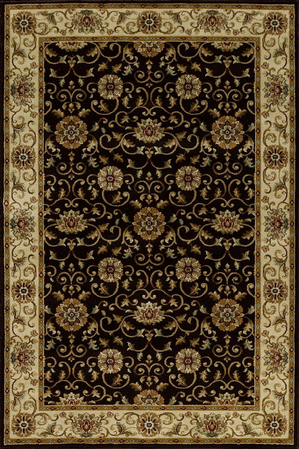 central oriental encore sienna traditional area rug collection