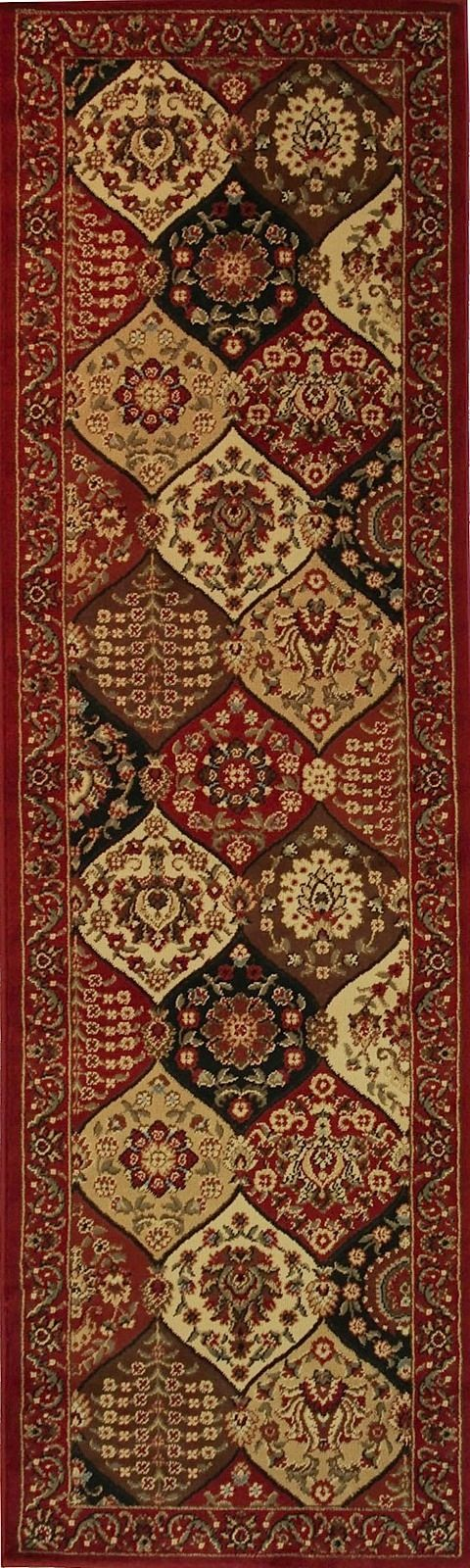 well woven barclay wentworth panel traditional area rug collection