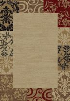 Well Woven Transitional Barclay Vane Willow Damask Area Rug Collection