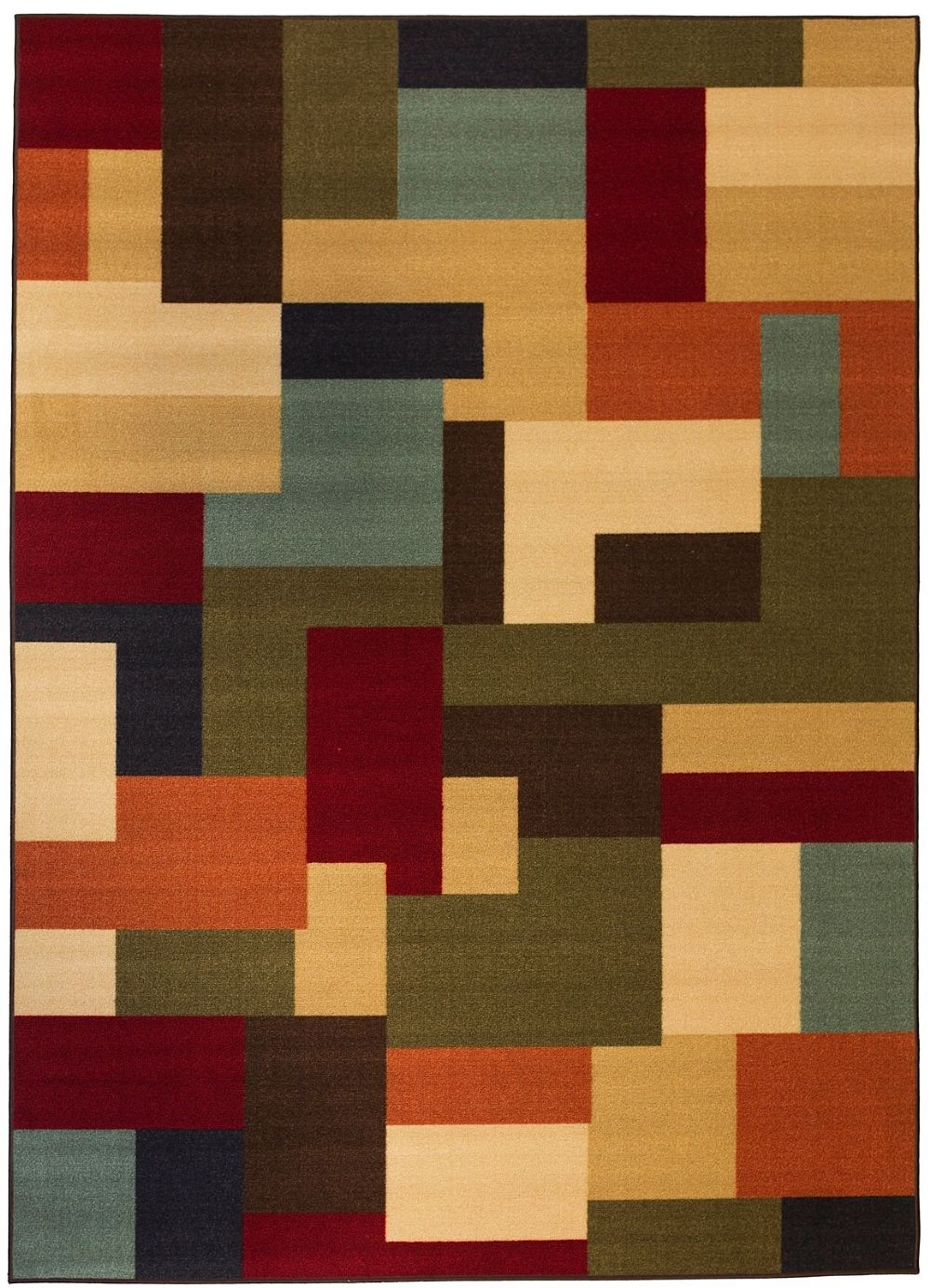 well woven kings court squizzle squares contemporary area rug collection