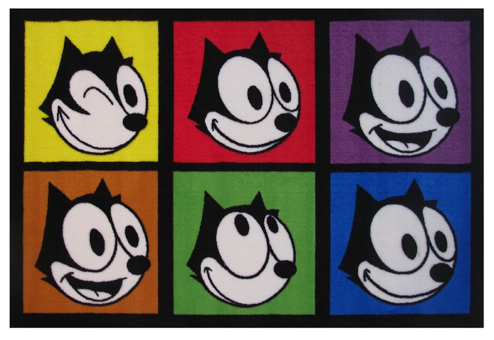fun rugs felix the cat kids area rug collection