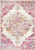 NuLoom Traditional Vintage Medallion Rosendo Area Rug Collection