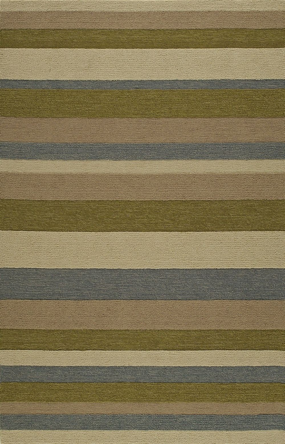 dalyn sanibel solid/striped area rug collection